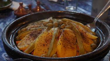 Local cuisine in Morroco
