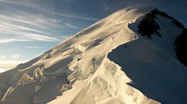 Normal route to climb Mont Blanc