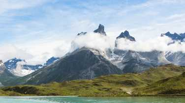 Postcard of Torres del Paine National Park