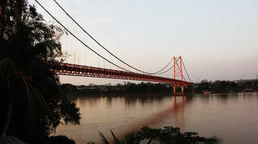 Puerto Maldonado bridge