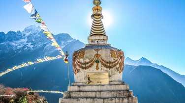 Stupa, Namche Bazaar, Nepal