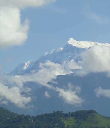 Annapurna IV see from Pokhara
