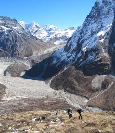 Ascent to the Mera Peak