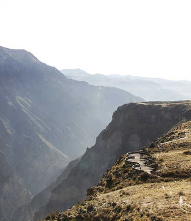 Colca Canyon landscapes
