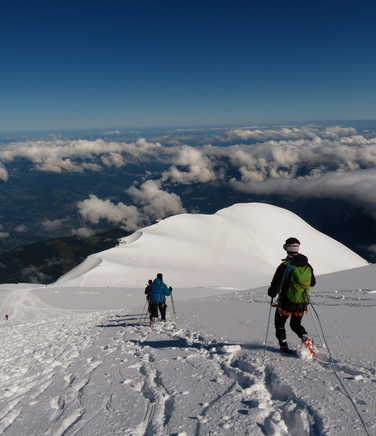 Descent from the Mont Blanc