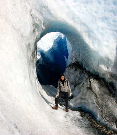 Ice hiking on Perito Moreno