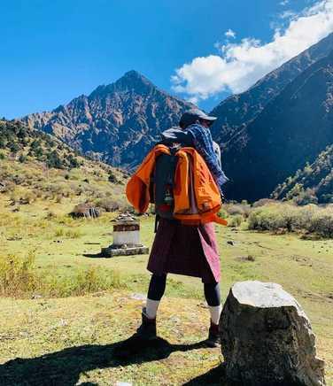 Kandoo team member in Bhutan