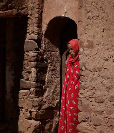 Local people in the High Atlas region