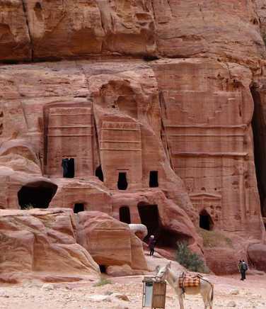Lost city of Petra