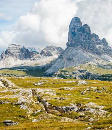 Mountains in the Dolomites
