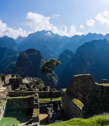Ruins of the Machu Picchu