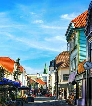 Streets in Stavanger