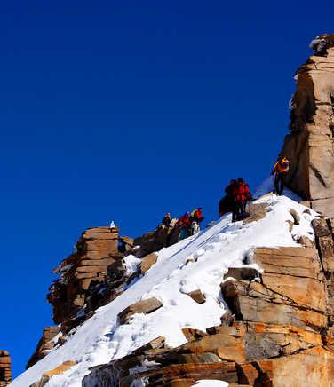 Summit of Gran Paradiso