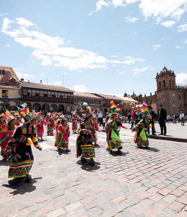 Traditional celebrations in the heart of Cusco