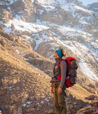 Trekking near Toubkal
