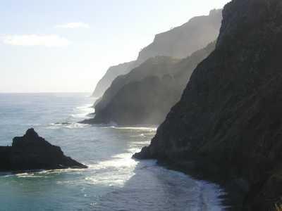 Sea cliffs on Madeira
