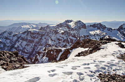 Winter ascent of Toubkal