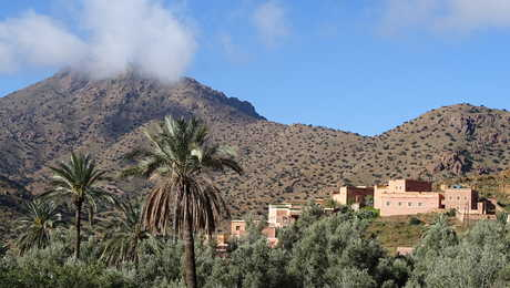 Ammeln valley in the Anti-Atlas region, Morocco