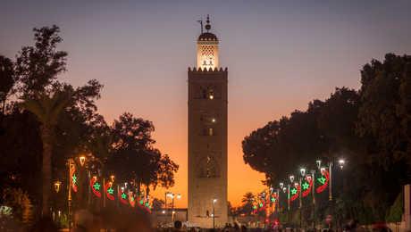 Celebrations in Marrakesh