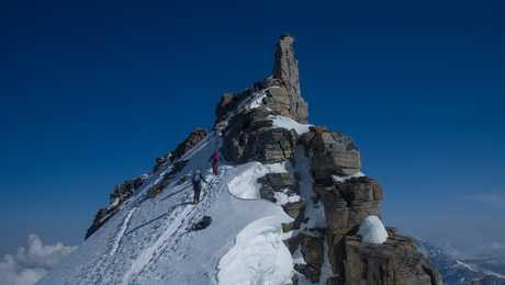 The summit of Gran Paradiso