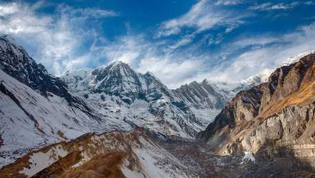 View from the Annapurna Sanctuary