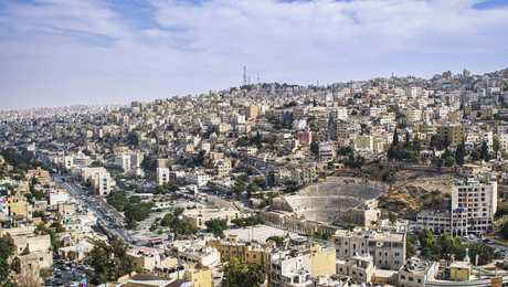 View of Amman from the sky