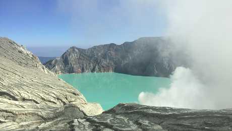 Vulcano Ijen, in Java oriental