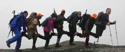 Amputee summits Kilimanjaro
