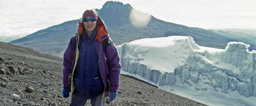 Cathy O'Dowd in Kilimanjaro