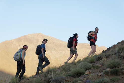 Hikers in High Atlas