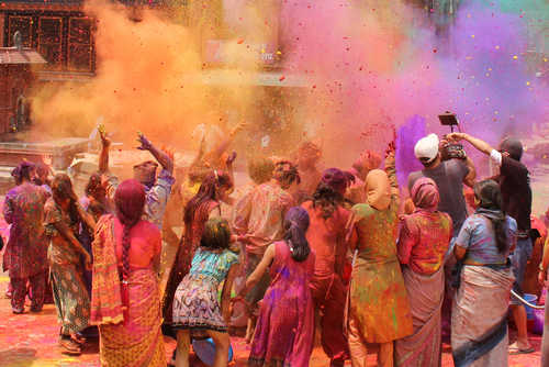 Holi festival, festival of colours