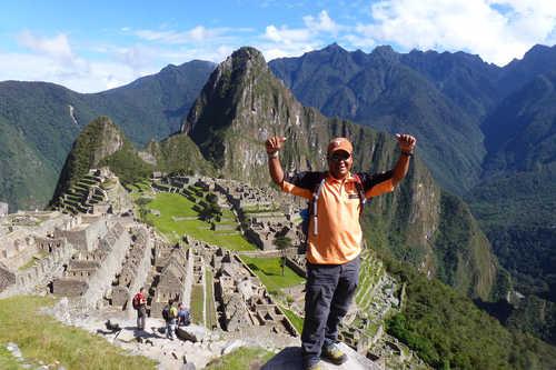 Jose in Machu Picchu