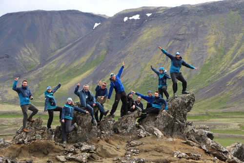 Our local team in Iceland