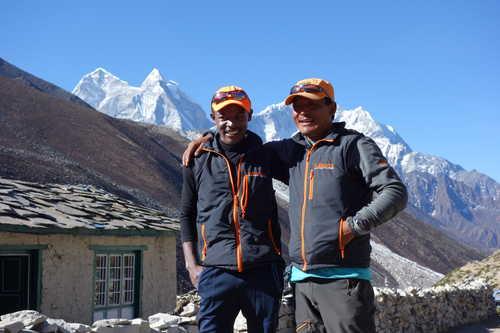 Our team member in Nepal