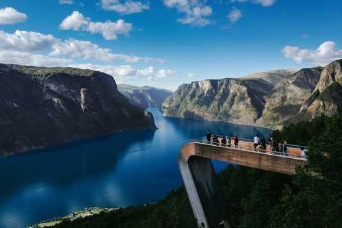 Stegastein, Aurland, Norway