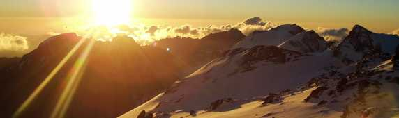 Sunrise on Aconcagua