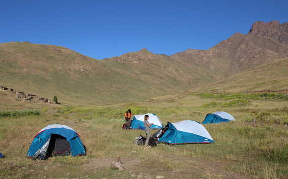 Camping in the High Atlas