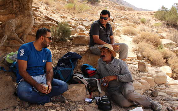 Guides from our local team in Jordan