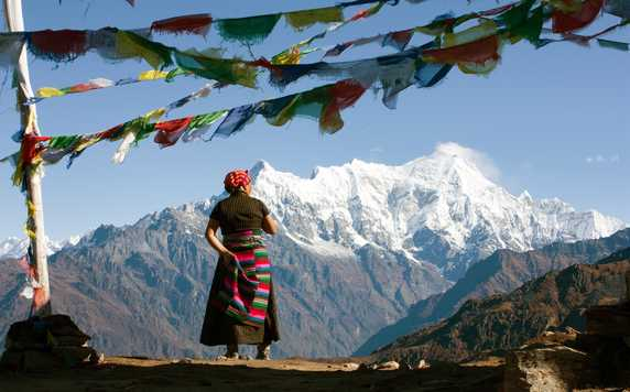 Local in Langtang valley