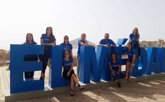 Our local team in Canary Islands