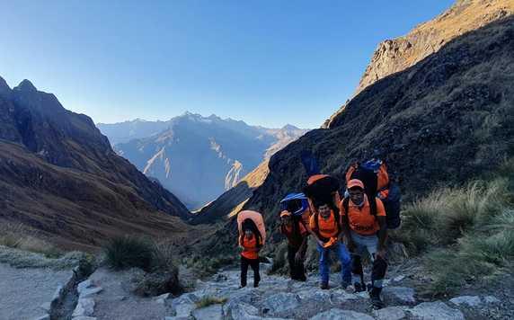 The Kandoo Team in Peru