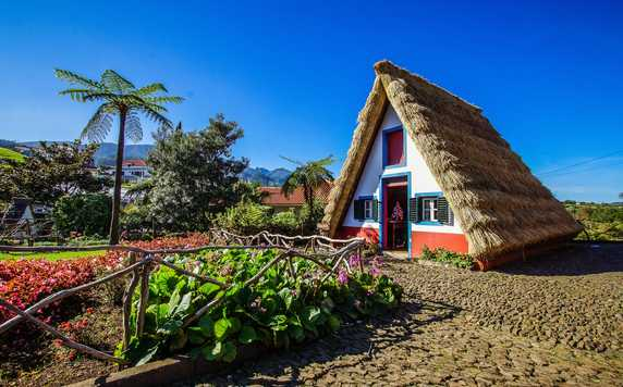 Traditional house on Madeira