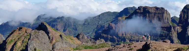 Hiking across the high peaks of Madeira