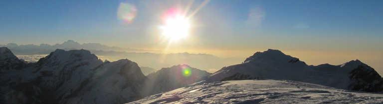 Summit of the Mera Peak
