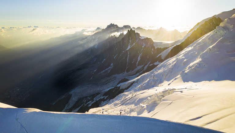 Climb Mont Blanc - Arrête du Goûter