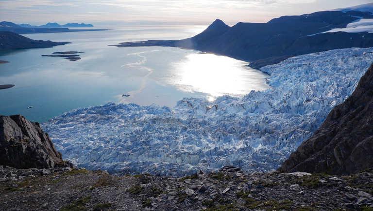 Glacier of King's Bay