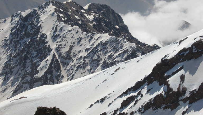 Mt Toubkal in winter