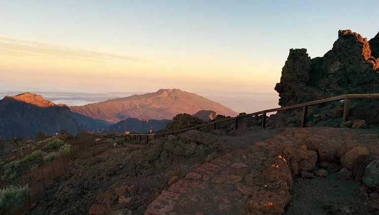 Walking trail on La Palma