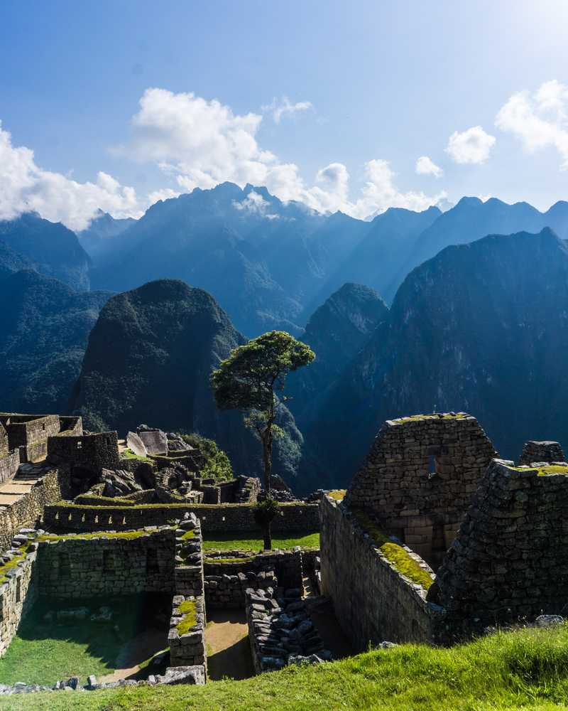 Ruins of the Machu Picchu