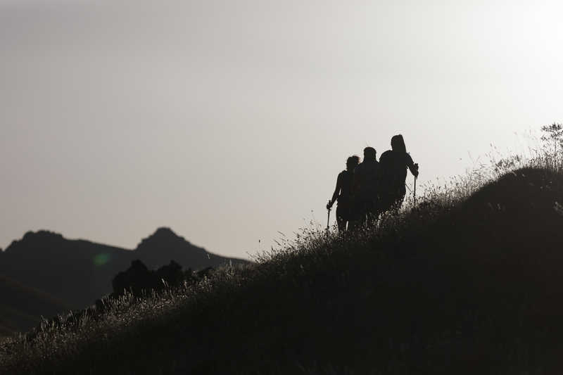 Trekking near Mt Toubkal